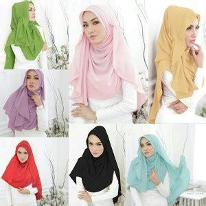 Pashmina Instan Jilbabhijab jilbab pashmina instan shabil fashion lebaran 2017 bundaku net