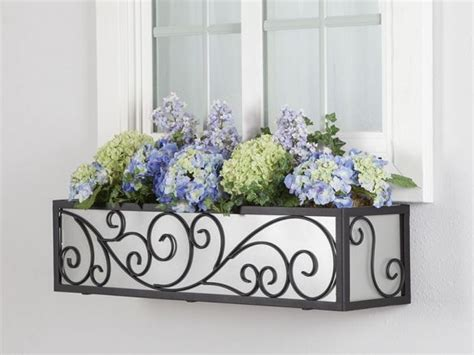 wrought iron window boxes for sale the wisteria window box cage square design wrought