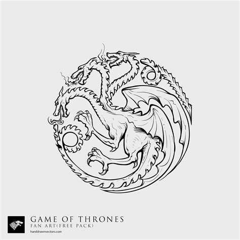 Of Thrones House Sigil Coloring Pages Coloring Pages