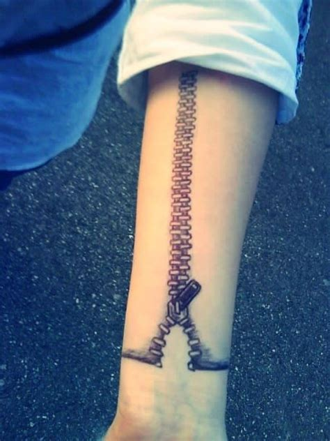 zipper tattoos 25 best ideas about zipper on 3d