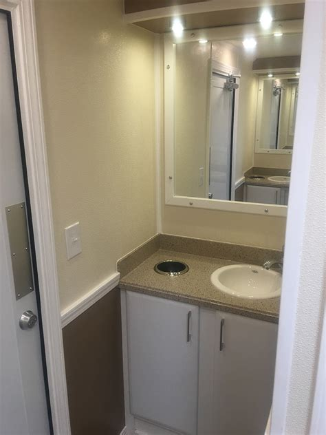 trailer bathroom vip trailer rentals and events tucson portable restroom rentals and septic service