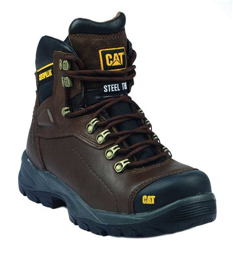 Caterpillar Alinskie Safety Boots caterpillar diagnostic brown work boots charnwood safety footwear