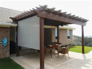 Pergola Screens by Privacy And Sun Screens Sepio Weather Shelters