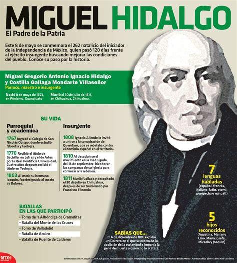 miguel hidalgo biography in spanish hoy se conmemora el 262 aniversario del natalicio de