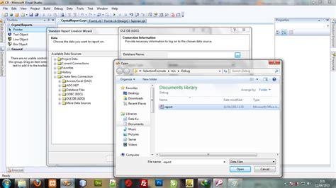cara membuat query di vb net cara membuat crystal report di vb net sfx community
