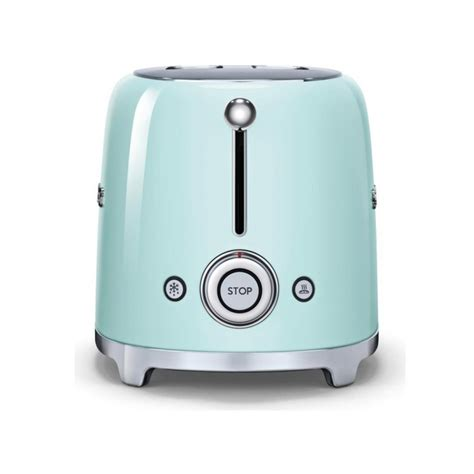 Green Toaster Oven Smeg Tsf01pguk 50 S Retro Style 2 Slice Toaster In