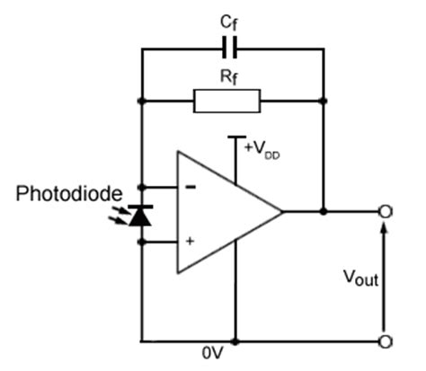 photodiode op photodiode op circuit photodiode wiring diagram and circuit schematic