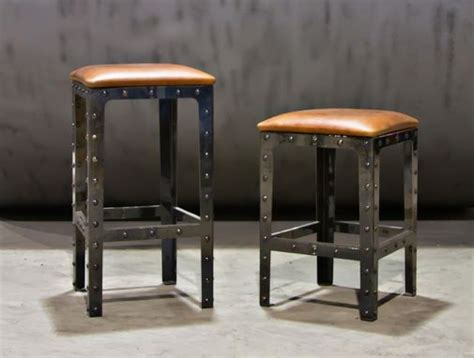 custom made bar stools uk made industrial pub height table bar stools by