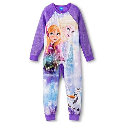 Footed Sleeper Pajamas by Disney Frozen Footed Sleeper Pajamas Target