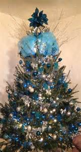 blue and silver christmas tree gloria s dreamy blue
