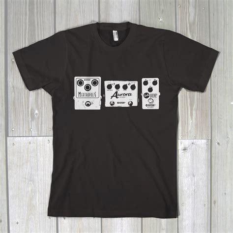 Handmade Shirt - raygun fx raygun fx pedals t shirt handmade guitar fx