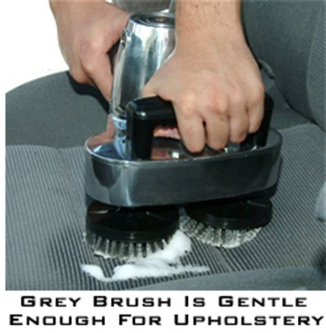 Upholstery Cleaning Brush by Cyclo Polisher Brushes Turn Your Cyclo Orbital Polisher