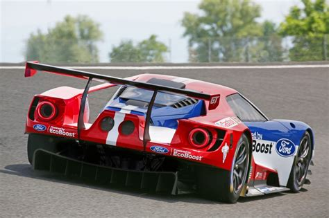 ford racing car four ford gt race cars will compete at le mans autoevolution