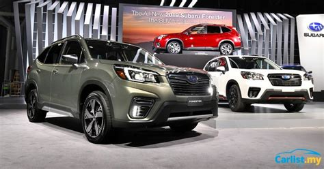 All New Subaru Forester 2018 by New York 2018 All New 2019 Subaru Forester New Global