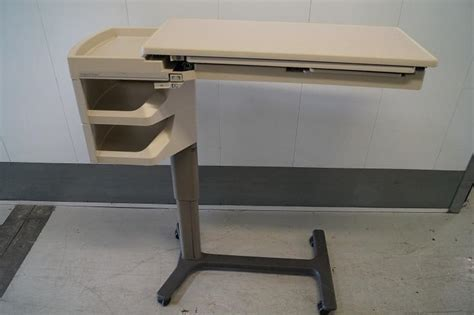 reconditioned hospital over bed table for sale hospital beds