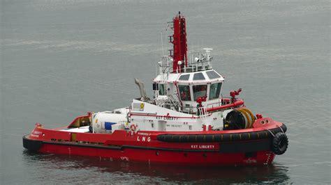 tug boat singapore keppel o m names lng fueled tug for keppel smith towage