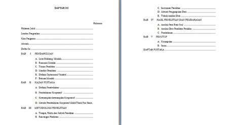 format makalah laporan penelitian contoh laporan penelitian sekolah matematika contoh