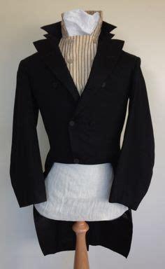 Sleeve Broad Brown navy blue wool coat 1820s november 2007