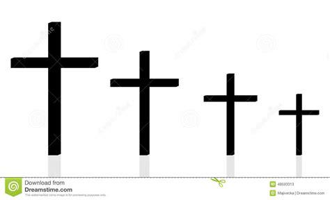 silhueta do vetor de uma cruz ilustra 231 227 o do vetor imagem