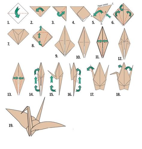 Origami Origami Crane Html - ashel s writing how to make an origami crane