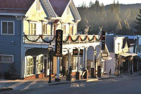 up and coming cities in california cool small towns nevada city california road trips