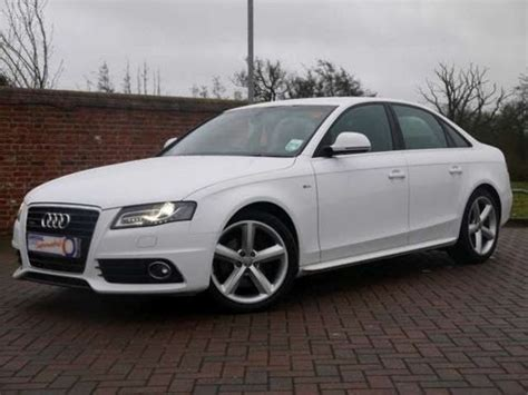 Audi A4 S Line 2009 by 2009 Audi A4 S Line 3 0tdi Quattro Saloon White For Sale