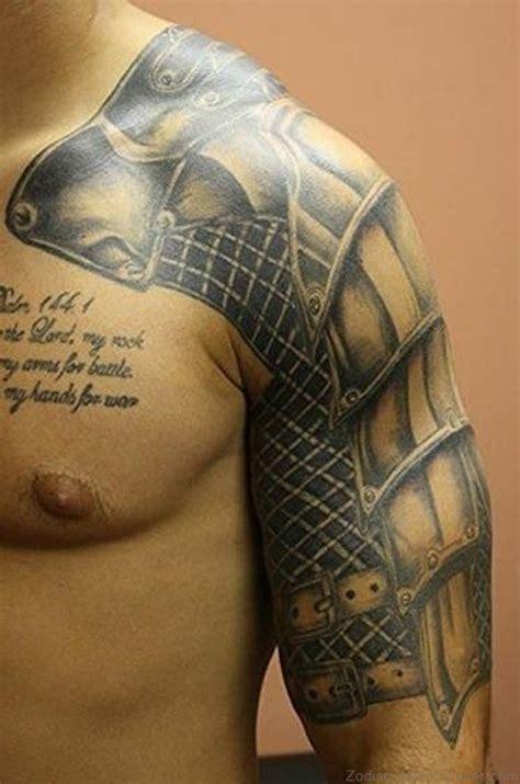 medieval armor tattoo 55 zodiac armour tattoos on chest