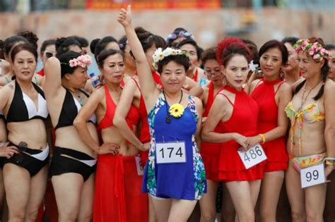 Swimsuit Giveaway - bikini contest in china stars the over 55s bangkok post news