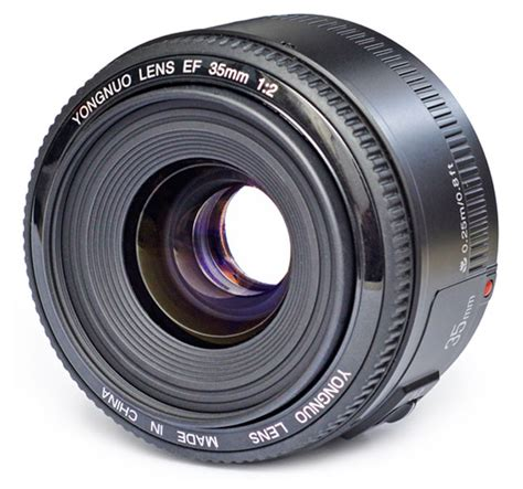 Yongnuo 35mm F2 yongnuo 35mm f 2 0 ef mount lens announced