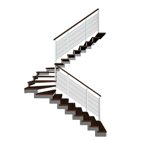 Stairs Designs half landing stairs design and decorate your room in 3d