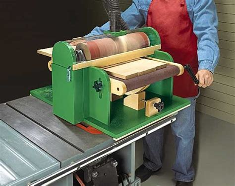 pattern drum sander shop built thickness sander tools pinterest