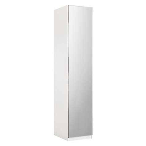 Single White Wardrobe Buy House By Lewis Mix It Mirrored Single
