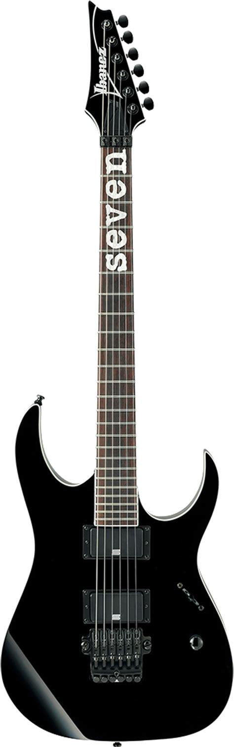 Ibanez Rg921 Bk Premium Electric Guitar Wcase Black ibanez mtm1 bk mick thomson signature black
