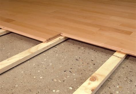 Sleeper System Deck by More About Basketball Floors Fitness Flooring