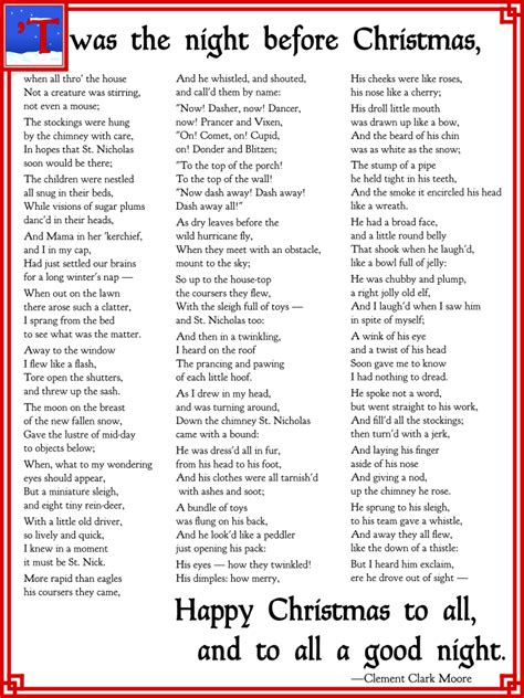 the night before christmas poem exchange gift 4 fa la la la ways to announce your engagement