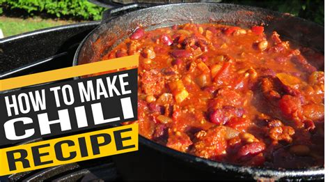 how to make chili postal barbecue bbq recipes reviews and tutorials