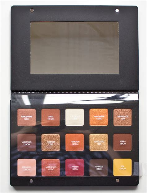 Denona Sunset Palette warpaint and unicorns denona sunset eyeshadow palette swatches dupes review