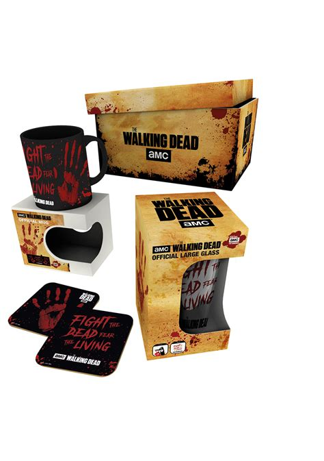 the walking dead gifts the walking dead merchandise gift box clothing hmv store