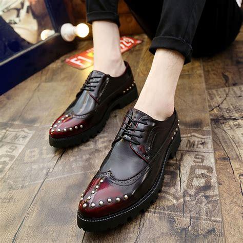 Mens Handmade Brogues - aliexpress buy mens casual shoes handmade formal