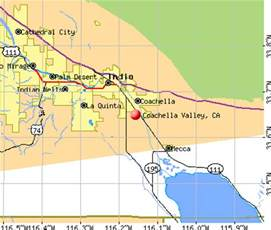 coachella valley map images