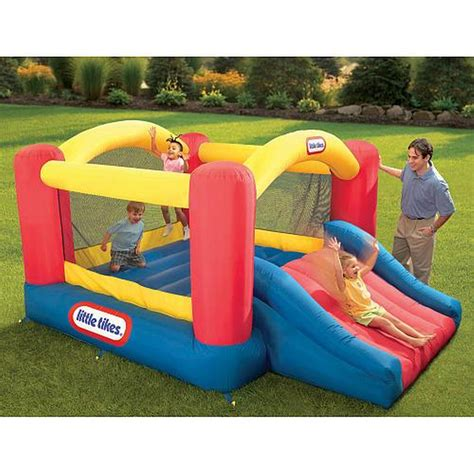 toys r us bounce house little tikes jump n slide inflatable bouncer toys quot r quot us