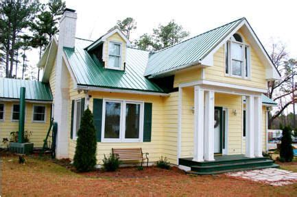 yellow house with green roof images coloring book
