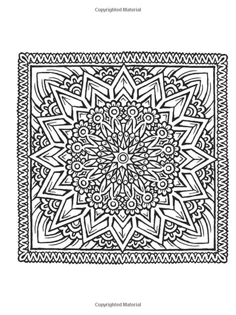 libro square mandalas creative haven 555 best images about coloring for adults on