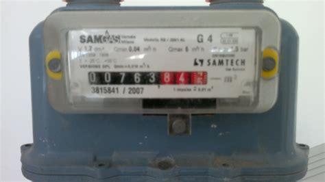 contatore gas interno la lettura contatore gas della in co edile soc