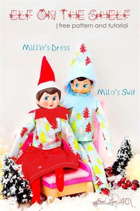 clothes pattern for elf on the shelf elf on the shelf clothing free pattern christmas