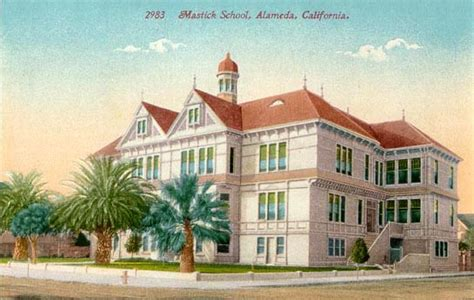 lincoln high school san leandro postcards from alameda county california