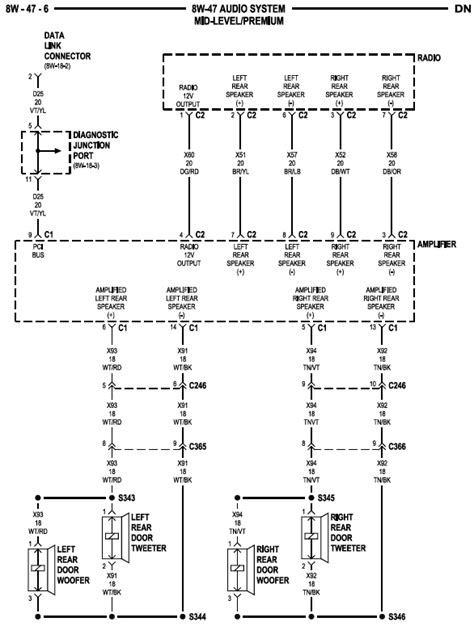2000 dodge dakota wiring diagram wiring diagram and