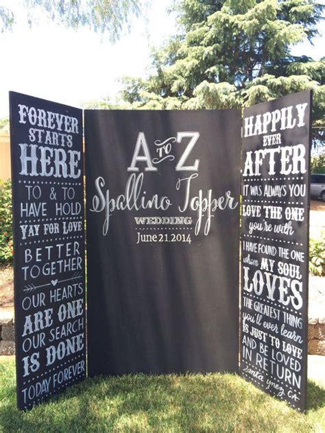 wedding backdrop board best 25 wedding chalkboard backdrop ideas on