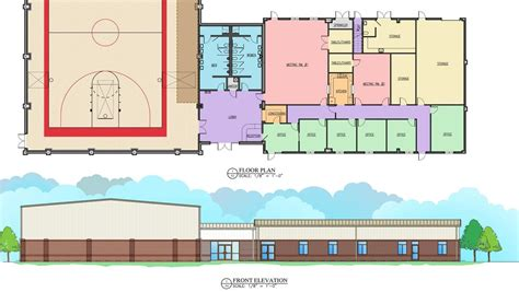 community center floor plan town to build 2m community center greensboro triad