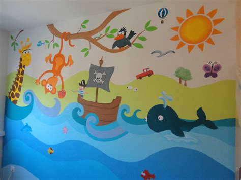Imagenes Infantiles Murales | murales infantiles murales pintados a mano sobre paredes